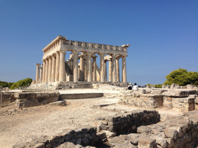 Temple of Aphaia close by
