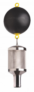 Ansaug-Grobfilter mit schlauchschonender WISY-Tülle
