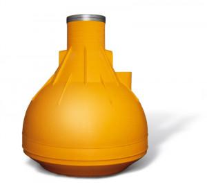 Cistern for rainwater
