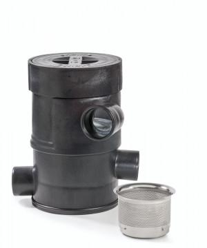Regen- und Betriebswasserfilter WFF 100 mit Filtereinsatz von WISY