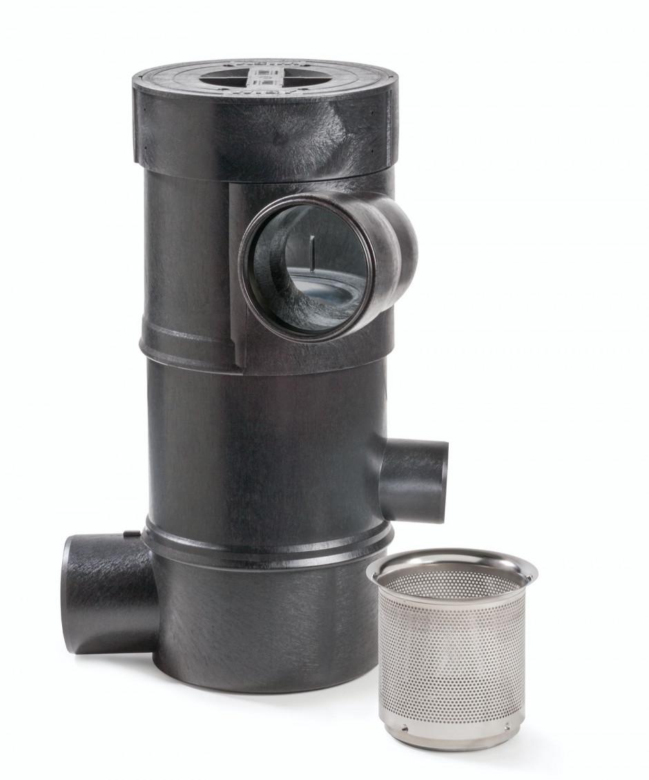 Betriebs- und Regenwasserfilter WFF 150 mit Filtereinsatz von WISY