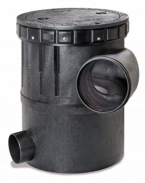 Wirbel-Feinfilter mit Stahldeckel