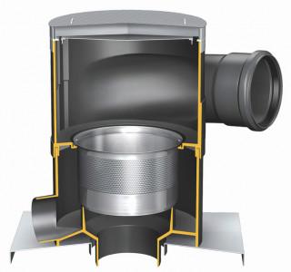 Betriebswasserfilter und Regenwasserfilter