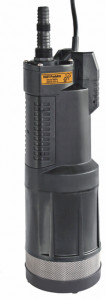 WISY Beta submersible garden pump with universal connection and direct suction