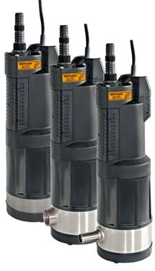 Beta Pumpen mit Direktansaugung, Stutzen oder Tülle