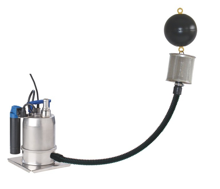 Provedo, exemplary with floating fine suction filter