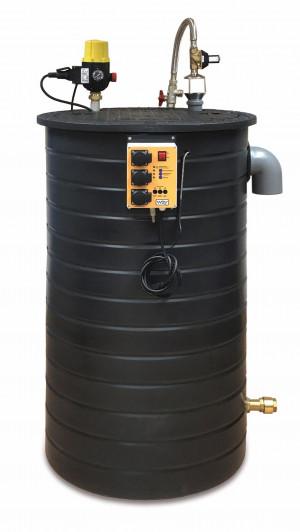 Regenwasserwerk für Regenwassernutzung in Großanlagen