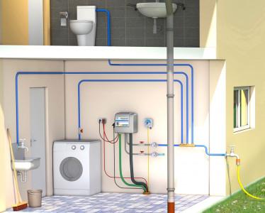 Regenwasseranlage mit Multimat Regenwasserwerk