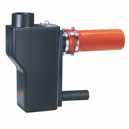 Multisiphon mit Kleintierschutz und Sicherunsschelle