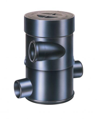 Wirbel-Feinfilter WFF 100. Regenwasserfilter mit guter Selbstreinigung. Auch für Brauchwasser oder Betriebswasser geeignet.