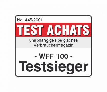 WFF 100 Testzertifikat