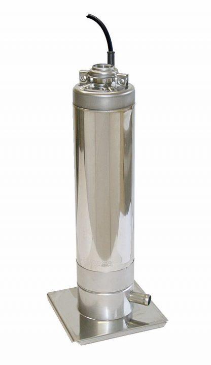 Unterwasser-Druckpumpe MULTIGO für den Betrieb mit Regenwasser