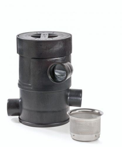 Regenwasserfilter WFF 100 mit selbstreinigendem Filtereinsatz